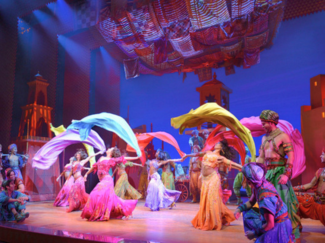 Aladdin (The Musical) Boston Opera House