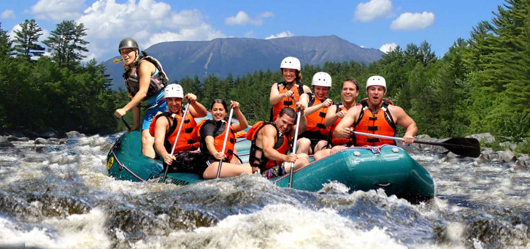 White Water Rafting (West Forks, ME)